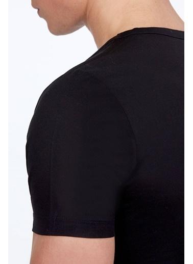 Hemington V Yaka Tişört Siyah